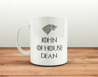 Game of Thrones Mug Cup / Personalised Mug / Birthday Gift / Work Office Gift / Christmas Present / Custom Mug / GOT fan art / Coffee Mug