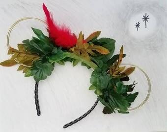 Peter Pan Ears   Peter Pan Wire Ears   Disney Ears   Wire Mickey Ears   Wire Mouse Ears   Minnie Flower Crown   Wire Ear Headband