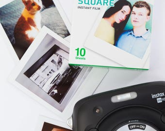 Make ANY image into REAL Instax Square format photo