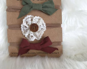 Baby Headbands- One Size Fits All