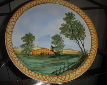 Painted Plate