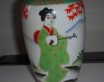 The Vase in Chinese porcelain