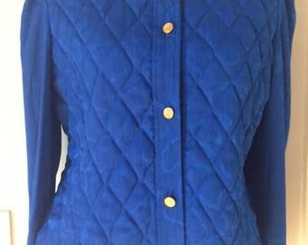Leslie Fay Royal Blue Jacket