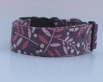 "The ""Purple Molly"" Dog Collar"