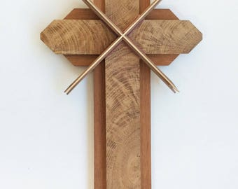 Wooden Cross using Unique and Beautiful Woods