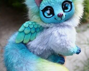 Winged kitten