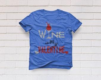 Valentines svg, Love Svg, Wine is my Valentine svg, Heart svg,  SVG Files, Cricut, Cameo, Cut file, Files, Clipart, Svg, DXF, Png, Pdf, Eps