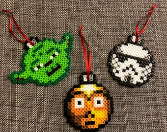Star Wars Ornaments - Perler Beads