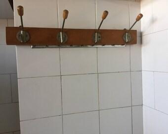 Vintage Hanger, Wooden Hanger, Metal Hanger, Old Wooden Hanger, Coat Hanger, Wooden Clothes Hanger, Vintage Decor