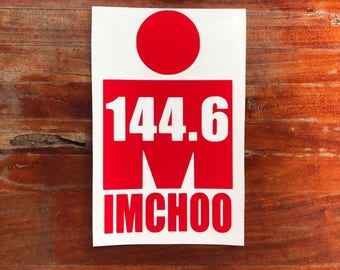Chattanooga 144.6 Vinyl Decal