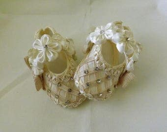 Zapatos de Bebe para Bautizo, Baby Baptism shoes, Christening Shoes, Baby girl shoes