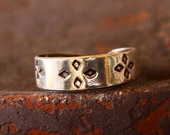 Flower Toe Ring, Toe Ring, Flower Ring, Adjustable Silver Toe Ring, Simple Toe Ring, Sterling Silver Ring, Sterling Silver Jewellery
