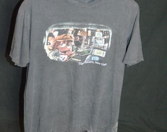 Vintage M&Ms World Times Square New York Taxi Driver T Shirt