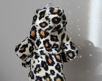Leopard Dog or Cat Robe