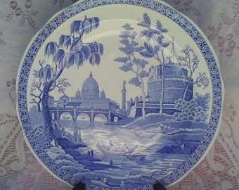 "Spode Blue Room ""Rome"" Made In England"