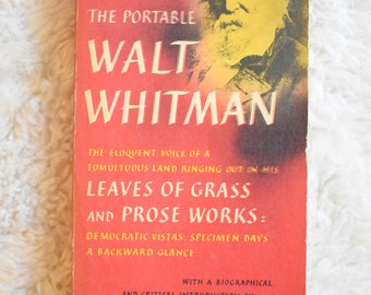 Vintage Walt Whitman Leaves of Grass and Prose Works