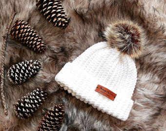 Ribbed Hat | Winter Snow