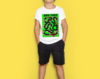 New !!! Race Track Kids T shirt 3 RACE CARS INCLUDED!!!