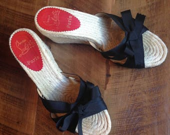 Sweet Little Christian Louboutin Espadrilles