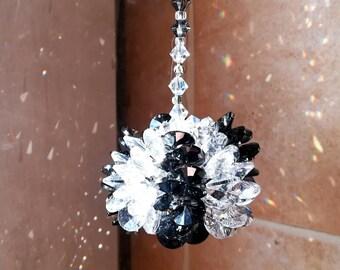 Housewarming Gift Crystal Suncatcher Swarovski Suncatcher Rainbow Maker Crystal Prism Window Ornament  Crystal Ball Light Catcher