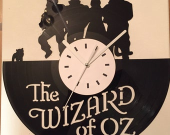 Wizard of Oz Vinyl Record Clock (Clearance)