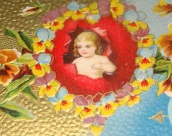 Nice Vintage Valentine Postcard
