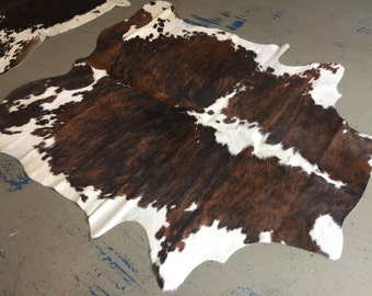 Colombian Tri-Color Cowhide Rug On Sale Now! | FREE SHIPPING