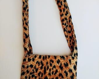 Cheetah Print Purse