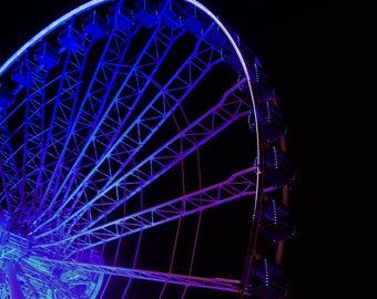 Color Photography, Architecture Photography, Chicago - The Color Wheel