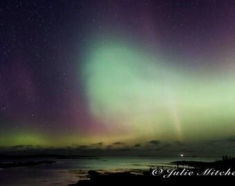 Northern lights giclee print - Aurora print - nature wall decor - professional print - nature photography - photography - astrophotography