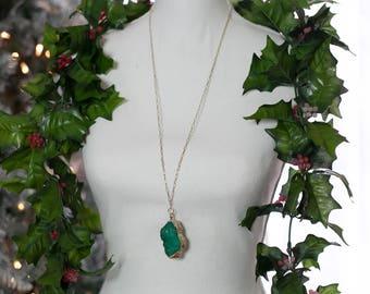 Meet me under the Mistletoe 2 necklace
