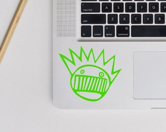ween boognish sticker, laptop decal, car stickers, macbook stickers