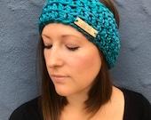 Cozy Crochet Ear Warmer, Crochet Headband, 2 Colors