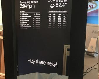 Raspberry Pi Custom Magic Mirror/Smart Mirror
