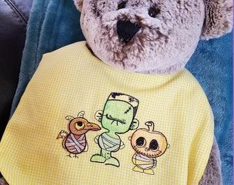 Mummy Crew Watercolored - Machine Embroidery Design