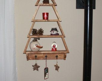 Handbuilt Holiday series .. it's a beautiful Christmas tree shelf !!