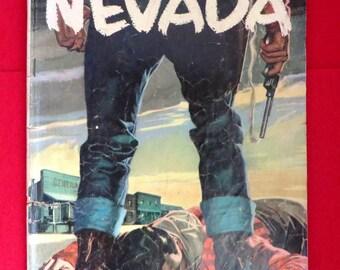 Zane Grey's Nevada Comic, Vintage Dell Comics, Silver Age Comics, No. 412, 1952, Western Comic Books