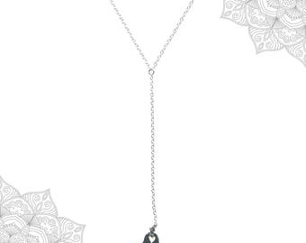 Hamsa charm pnecklace