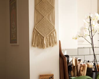 Macrame Natural Wall Hanger