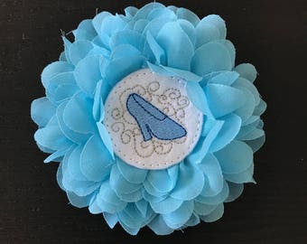 Princess Slipper Flower Bow!