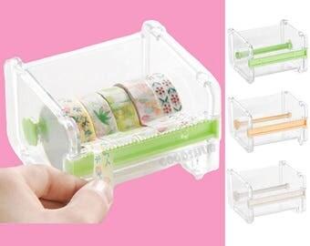 Washi Tape Cutter, Washi Tape Dispenser, Masking Tape Dispenser, Masking Tape Cutter, Masking tape holder, Washi Tape Ring Holder Storage