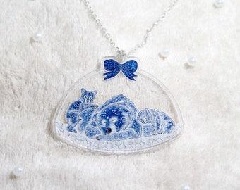 Dreamy Bear Fantasy Necklace ~ Kawaii, Lolita, Cute