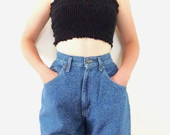 Vintage Lee High Waisted Boyfriend Jeans