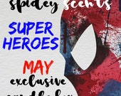 PRE ORDER - Super Heroes May Candle Box