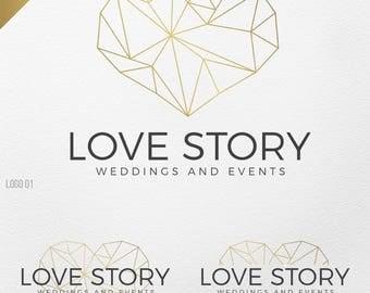 Wedding logo design | Etsy