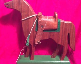 Handmade Wooden Horse