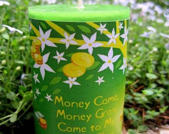 Money Spell Candle
