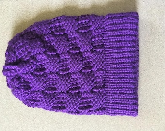 Royal Purple Beanie