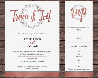 Custom Party or Event Invite
