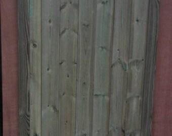 Scalloped Top Garden Gate (6Ft)